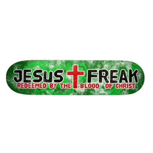 Jesus Freak Green Skateboard