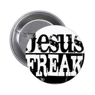 Jesus-Freak-Shirt.jpg 6 Cm Round Badge