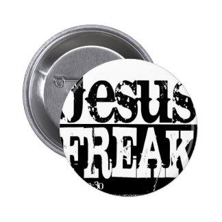 Jesus-Freak-Shirt.jpg 6 Cm Round Badge