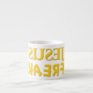 Jesus Freak (SUSEJ KAERF) 6 Oz Ceramic Espresso Cup