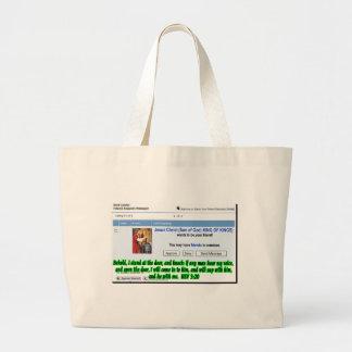 Jesus Friend Request Canvas Bag