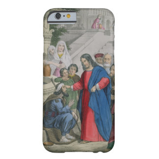 Jesus Gives Sight to One Born Blind, from a bible Barely There iPhone 6 Case