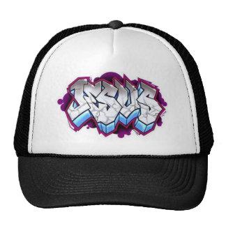 jesus graffiti cap