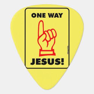 Jesus Guitar Pick