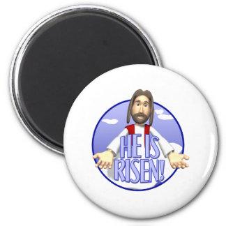 jesus he is risen magnets