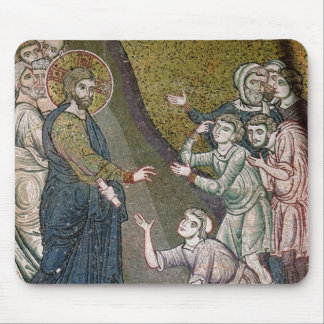 Jesus Healing the Crippled and the Blind Mouse Pad