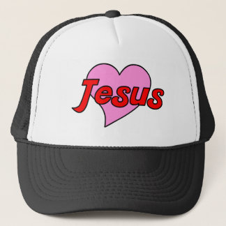Jesus Heart Trucker Hat