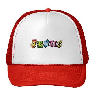 Jesus  hiphop multi line by christianstores trucker hat
