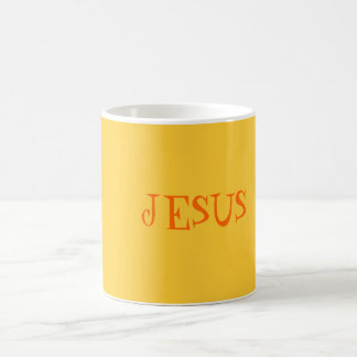 Jesus- Holy Grail Basic White Mug