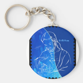 JESUS HOME BLESSING CUSTOMIZABLE PRODUCTS KEYCHAIN