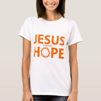 jesus hope orange T-Shirt