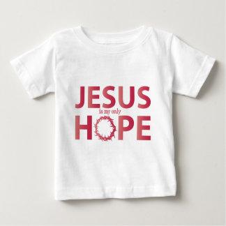 jesus hope salmon gradient baby T-Shirt