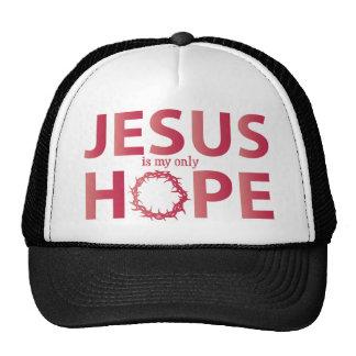 jesus hope salmon gradient cap