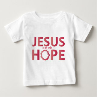 jesus hope salmon gradient t-shirt