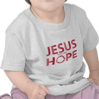 jesus hope salmon gradient shirts