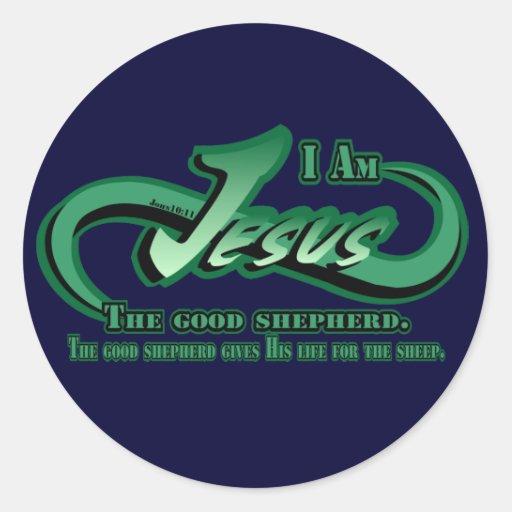 Jesus I Am The Good Shepherd Stickers