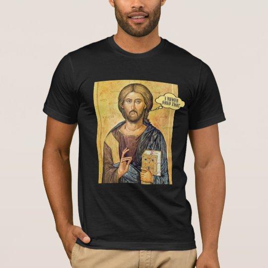 "Jesus ""I NEVER SAID THAT"" New Testament Pro-Love"