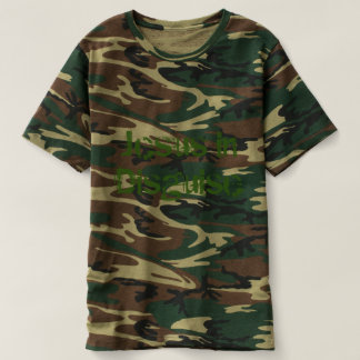 Jesus in Disguise Men's Camo Shirt