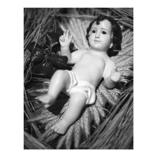Jesus in the crib flyer