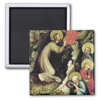 Jesus in the Garden of Gethsemane Fridge Magnet