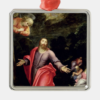 Jesus in the Garden of Olives, c.1590-95 Christmas Ornament