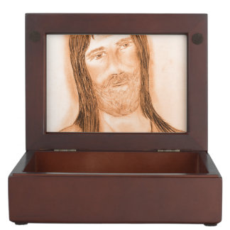 Jesus In The Light Memory Boxes