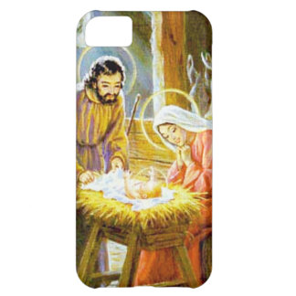 Jesus In The Manger Christmas Nativity iPhone 5C Case