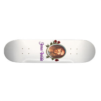 Jesus inside Christian products Skateboard Deck