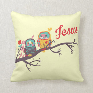 Jesus inspired accent pillow