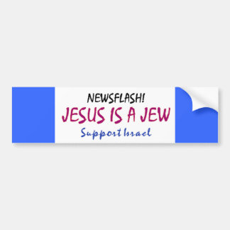 Jesus is a Jew Bumper Sticker