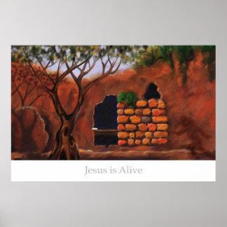 Jesus is Alive Poster