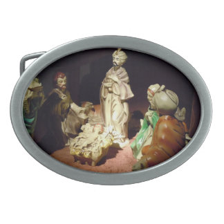 Jesus is Born Belt Buckles