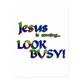 Jesus is coming...2 postcard