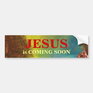 JESUS is COMING SOON Bumper Sticker