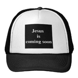 Jesus is coming soon cap