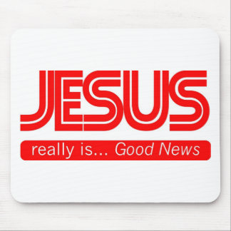 Jesus is Good News Mouse Mat
