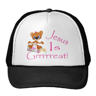 Jesus is Grrrrreat! Cap