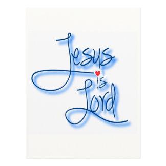 Jesus is Lord. Postcard