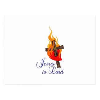 JESUS IS LORD POSTCARD