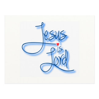 Jesus is Lord. Postcards