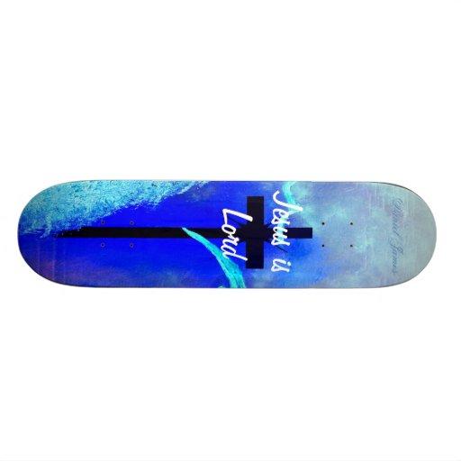 Jesus is Lord skateboard