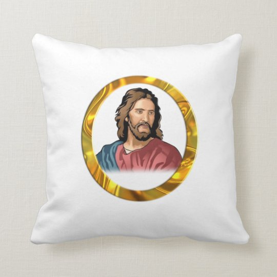 Jesus is lord throw pillow