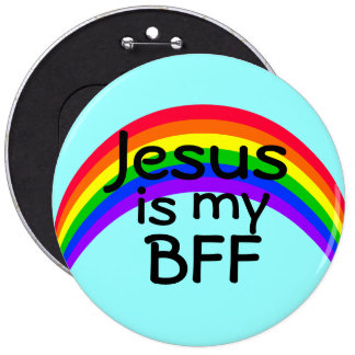 Jesus is my Best Friend Forever Pins
