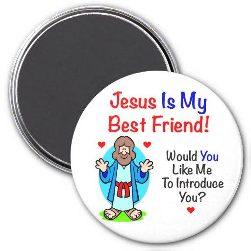 Jesus Is My Best Friend Magnet Fridge Magnet