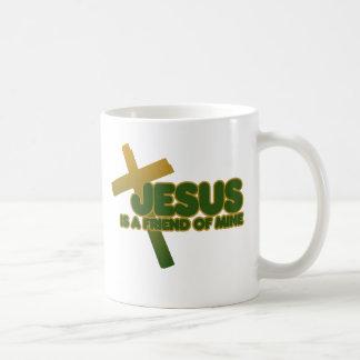 Jesus is my friend mug
