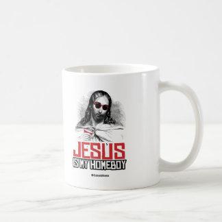 Jesus is my Homeboy Basic White Mug