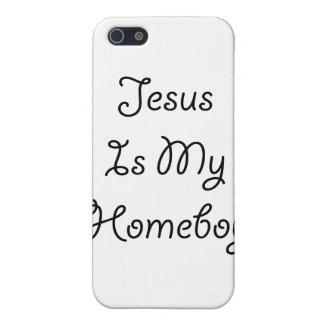 Jesus Is My Homeboy iPhone 5/5S Cases
