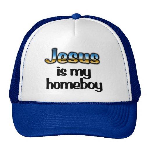 Jesus is my homeboy Trucker Hat - Christian