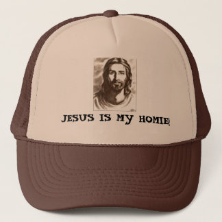 JESUS IS MY HOMIE! TRUCKER HAT