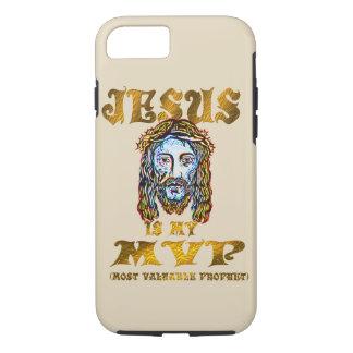 jesus is my mvp most valuable prophet iphone case
